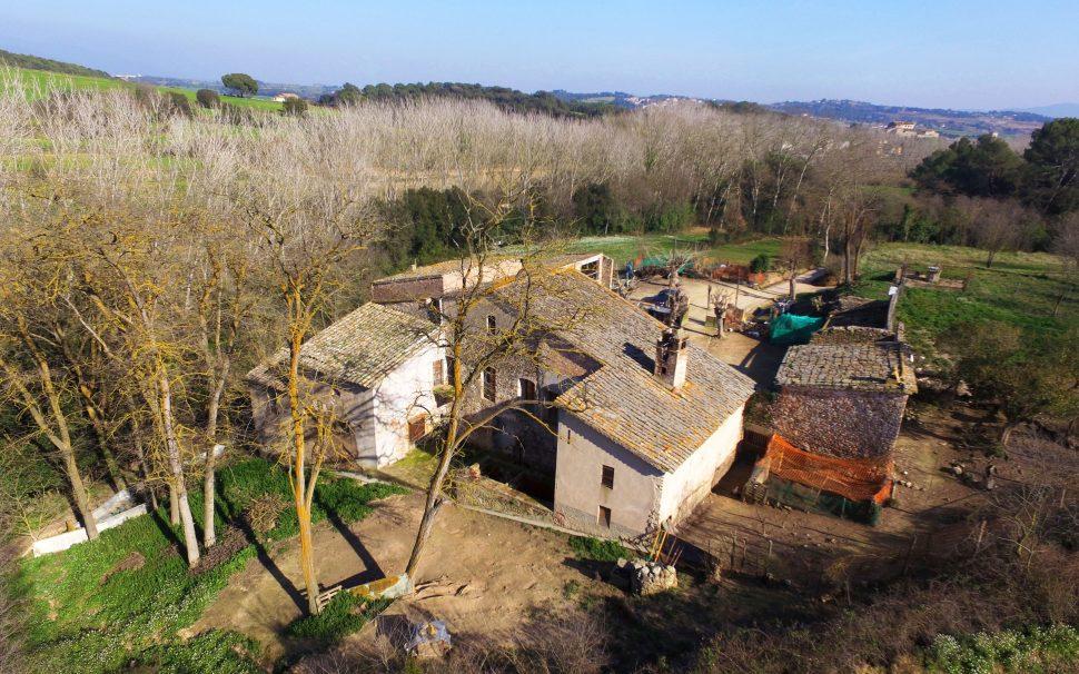 Finca rústica amb masia a Lliçà d'Amunt (Barcelona)