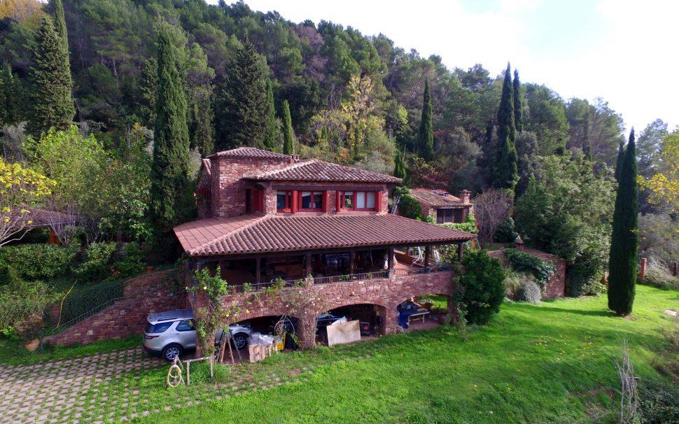 Finca rústica amb masia a Tagamanent (Vallès)
