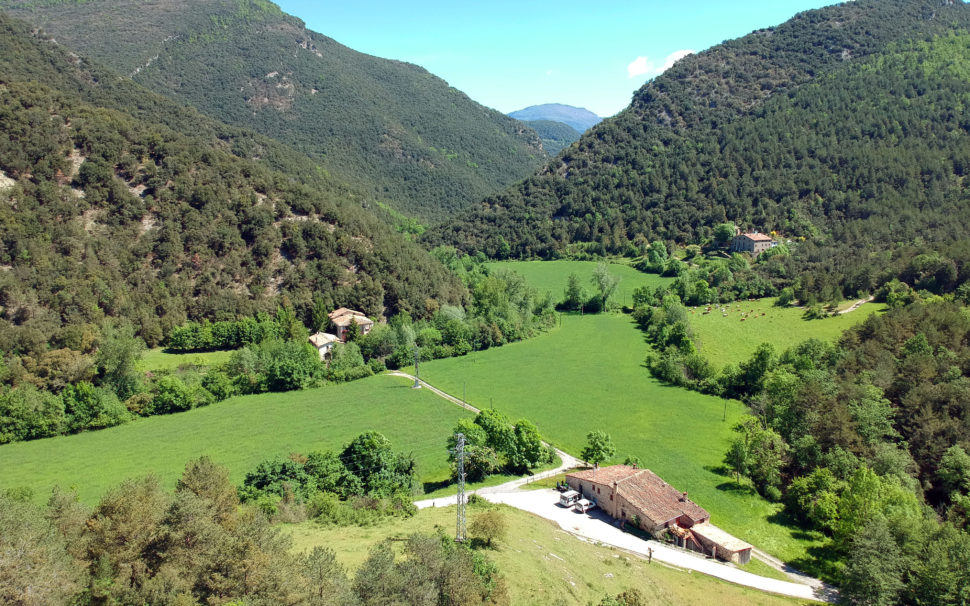 Finca rústica amb masia a la Vall del Bac (Vall de Bianya)
