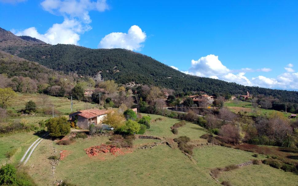 Finca rústica amb masia a Joanetes (La Vall d'en Bas)