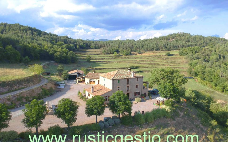 Finca rústica con 3 masías en Borredà (Berguedà)